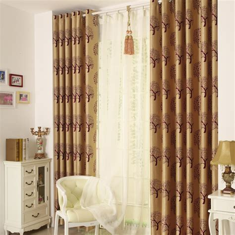 blackout curtains room luxury jacquard blackout living room curtain