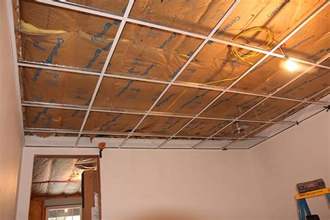 Woodtrac Ceiling System Review Upgrade Your Ceiling How To Install A Suspended Ceiling