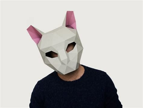 3d animal mask templates the world s catalog of ideas