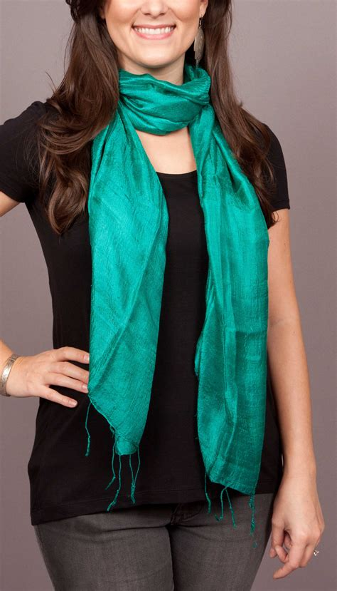 the sound of thai silk scarves small