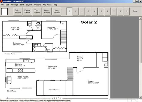 architect home plans ez architect for windows 7 and 8 and 10 and xp and vista