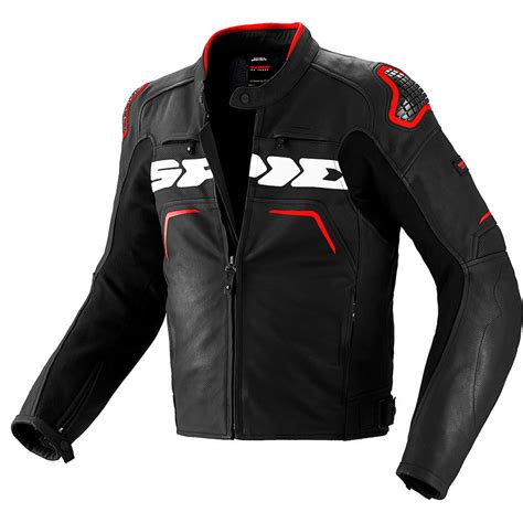sport bike leathers spidi evorider leather motorcycle jacket s race sport