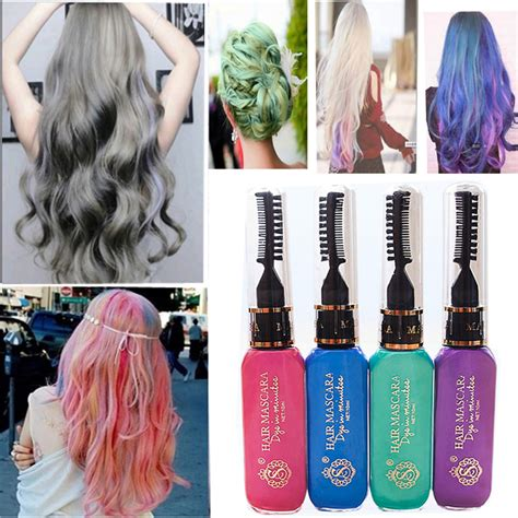hairstyling products that temperaily give brunette hair warm brown tones hot new 10 colors gray hair color professional highlights