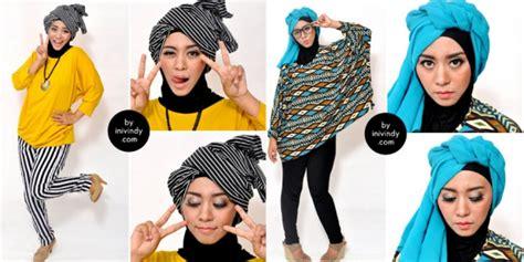 tutorial hijab turban ini vindy ini vindy hijab turban tetap syar i dream co id