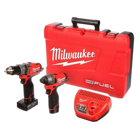 milwaukee m12 fuel 12 volt cordless lithium ion 1 2 in