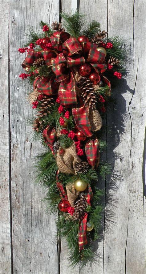 christmas swag holiday swag christmas wreath by