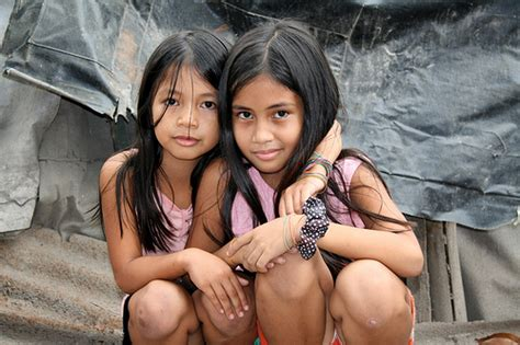 little asian preteen asia philippines the slums in angeles city preteen