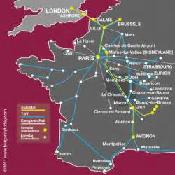 Tgv Route Map by Tgv Map My Blog