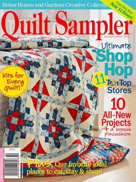 Better Homes And Gardens Quilt Magazine by Better Homes And Gardens Creative Collection Quilt Sler