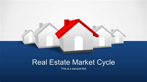 Powerpoint Templates For Real Estate real estate market cycle powerpoint templates slidemodel