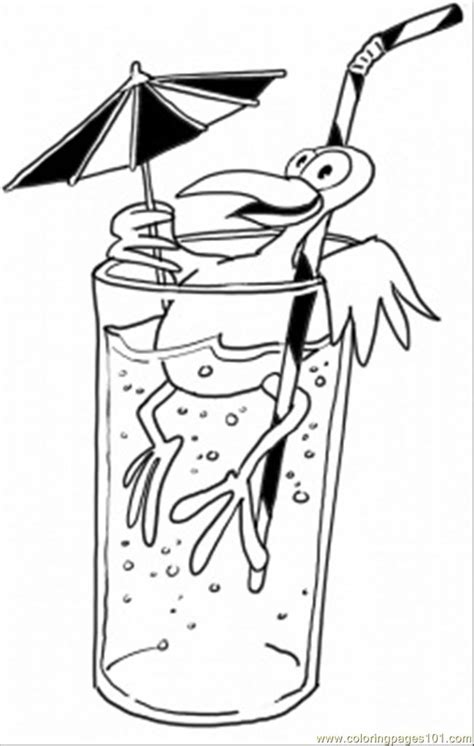 coloring pages of food and drinks coloring drink food anddrink coloring drink 点力图库