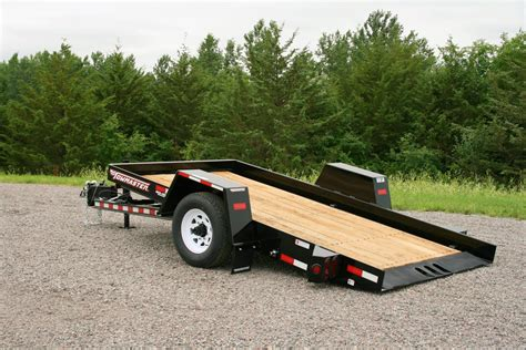 tilt bed trailers towmaster t 5dt tilt bed trailer atv illustrated