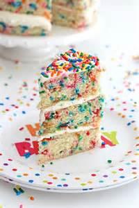konfetti kuchen confetti cake the bakermama