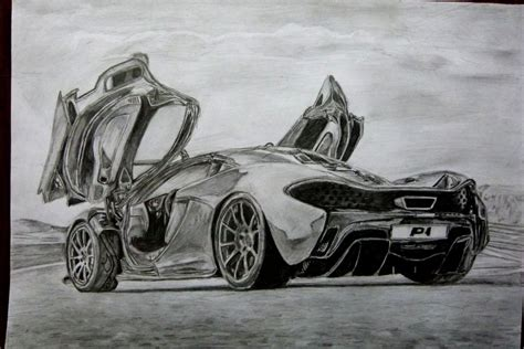 mclaren drawing mclaren p1 pencil by 09pumba09 on deviantart