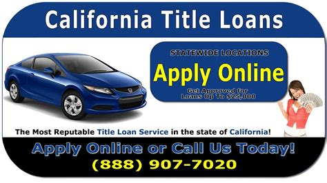 california car title loans  title loan application