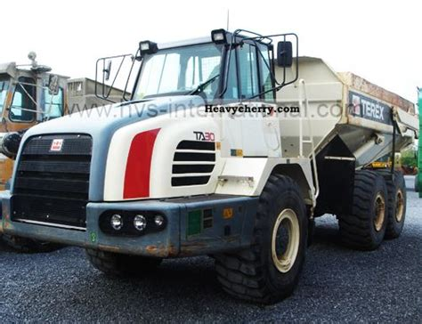 2008 toyota ta weight terex ta30 2008 other construction vehicles photo and specs