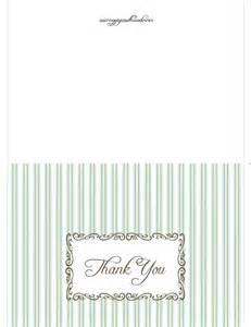 free printable thank you card thank you cards printables
