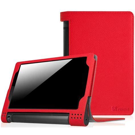 funda lenovo yoga 10 funda para lenovo yoga tablet 3 8 pulgadas rojo fintie