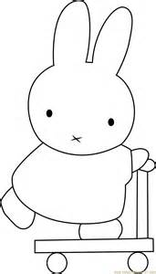 miffy going coloring page free miffy coloring pages