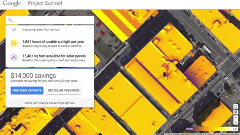 google announces project sunroof to help power the world google s project sunroof wins un climate change award