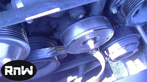 mercedes c230 serpentine belt tensioner shock replacement