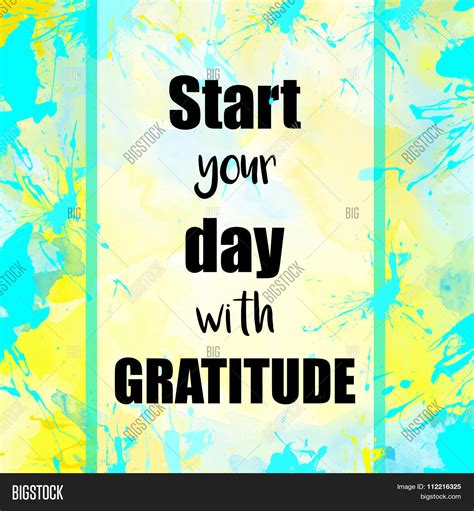Start Your Day With Addict 3 by Start Your Day Gratitude Message Image Photo Bigstock