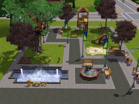 Sims Rest On A spring4sims the sims 3 town stuff pictures renders