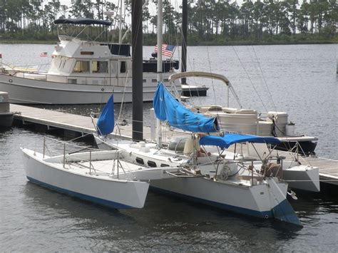 catamaran sailboats for sale in canada sailboat 28 brown maples trimaran trimaran design