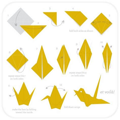 How To Make A Origami Crane - 72 best images about origami on origami cranes