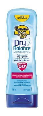 banana boat dry balance dry balance sunscreen lotion banana boat 174