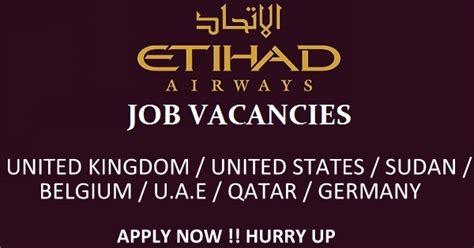 etihad airways careers cabin crew aviation in dubai at etihad airways uae
