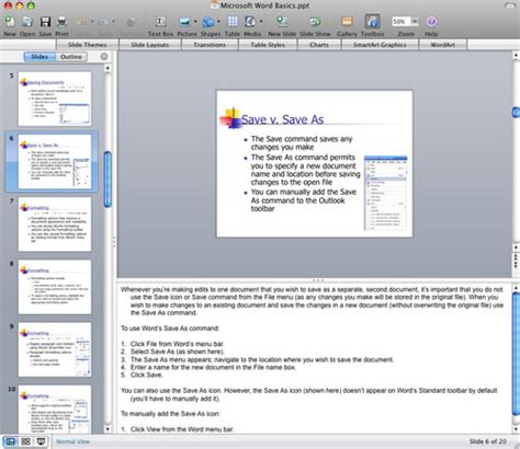 tutorial powerpoint mac 2008 microsoft office for the mac 2008 the right tool for the