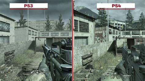 Ps3 Call Of Duty 4 Modern Warfare call of duty 4 modern warfare multiplayer map graphics comparison ps3 vs ps4 codejunkies