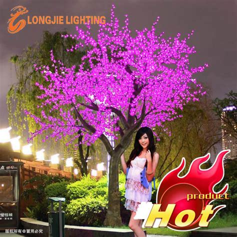 pink outdoor lights beautiful outdoor led tree lights purple led cherry tree