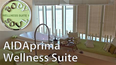 aidaprima wellness suite ausf 252 hrlicher rundgang - Aidaprima Wellness Suite
