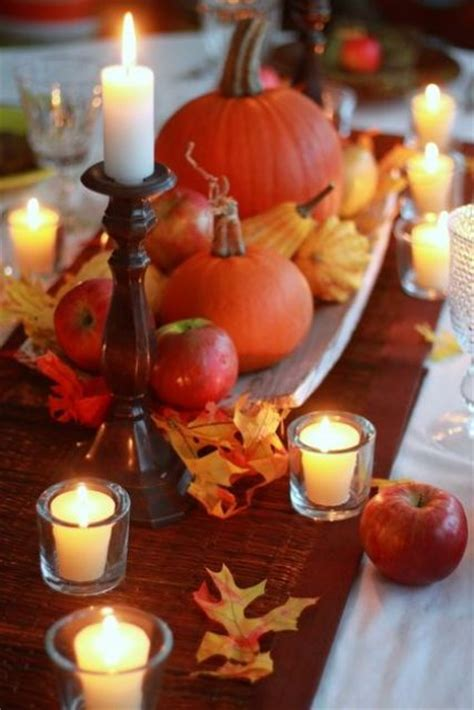 fall table decorating 52 cool fall d 233 cor ideas digsdigs