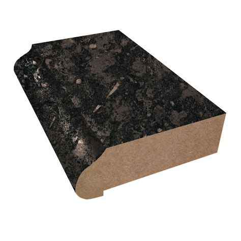 Black Laminate Countertop by Ogee Edge Laminate Countertop Trim 3461 Black Fossilstone