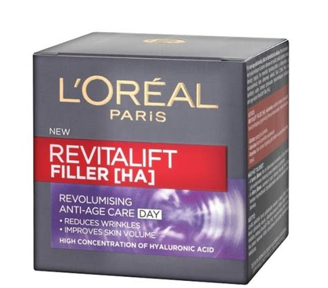 L Oreal Revitalift Filler loreal revitalift filler day creme bubblebox
