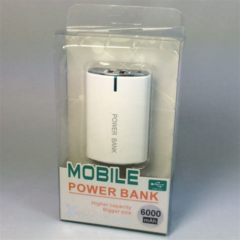 Power Bank Invigo 6000mah external battery for smartphone iphone samsung