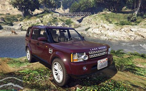 gta 5 land rover discovery 4 mod gtainside