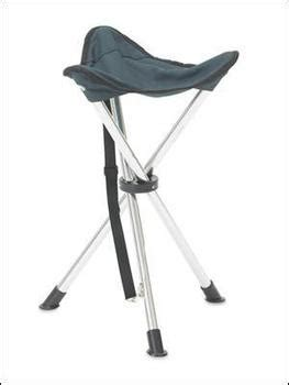 3 Legged Collapsible Stool by Lightweight Alloy Tripod Stool