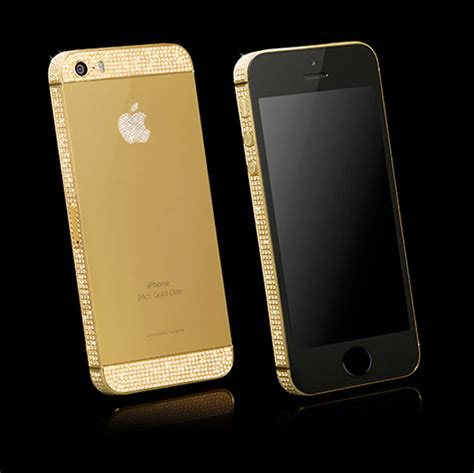 Ip5s swarovski gold iphone 5s customise your iphone now goldgenie official