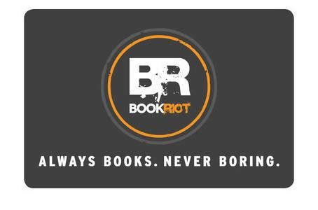 Riot Gift Card - giveaway 50 book riot store gift card