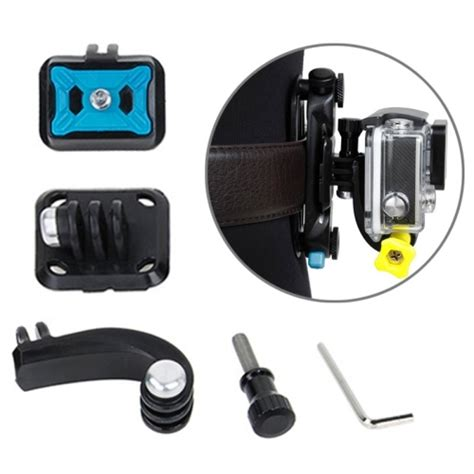 Tmc Upgraded For Gopro 4 tmc hr315 4 in 1 cameras waist buckle adapter set for gopro hero4 3 3 and xiaomi yi sport