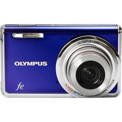 olympus fe digital olympus fe 5020 digital blue 227175 b h photo