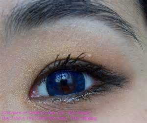 bright blue colored contacts blue korean color contact lens review geo cm 772 blue