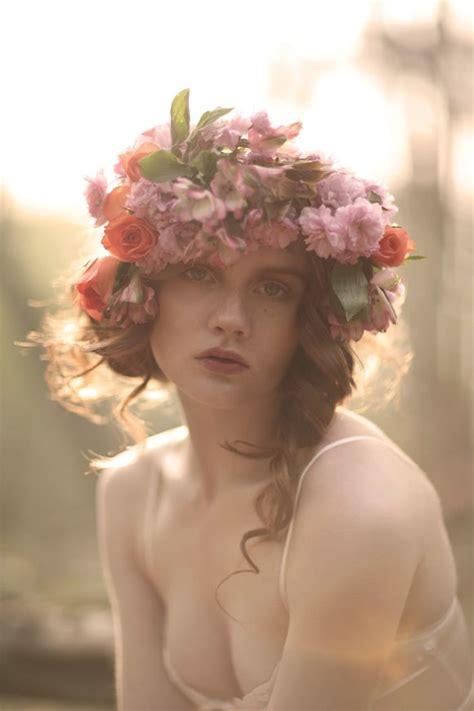 Diane Flower Headpiece floral garland headpieces inspiration for brides my dress 174 uk wedding
