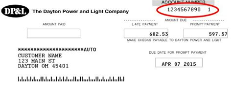 Dayton Power And Light Phone Number by Dpl Bill