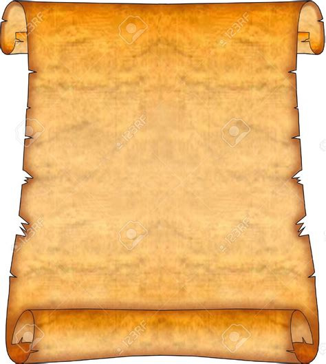 Best Scroll Clip Art 2753 Clipartion Com Ancient Scroll Template