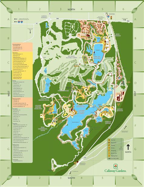 Pine Mountain Inn Callaway Gardens by Callaway Gardens Map My Blog